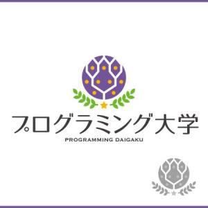 プログラミング大学ロゴ①(紫)